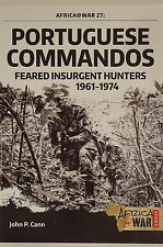 Portuguese Commandos Feared Insurgent Hunters Africa @ War 27 Reference Book