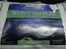 Therapedic Wont Go Flat Side Sleeper Standard/Queen 19 x 27 x 1 (D69-1495)