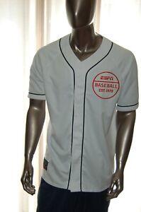 DISNEY WORLD ESPN Licensed Baseball Established 1979 Jersey Large White MLB