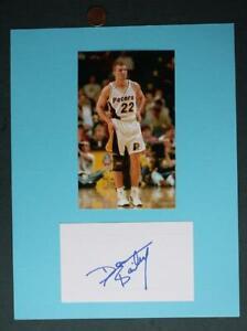 1990s Indiana University & Pacers Damon Bailey signed autograph & photo set-NICE