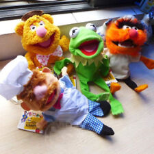 The Muppet Show Kermit the Frog Fozzie Bear Drummer Swedish Hand Puppet 4PCS
