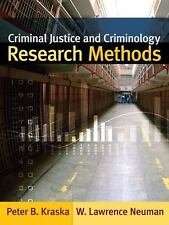 Criminal Justice and Criminology Research Methods-ExLibrary