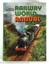 RAILWAY WORLD ANNUAL 1973 - illustrated with 160 photos - HARDBACK