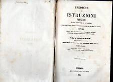 prediche o istruzioni familiari - 1843 - tomo I° - m. cochin -