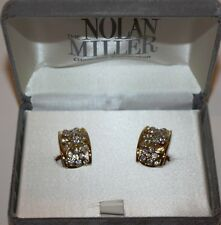 NEW The Nolan Miller Glamour Collection Delightful Crystal Earrings