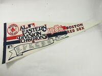 "1986 Boston Red Sox Eastern Division Champions MLB Baseball Pennant 30"""