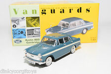 . VANGUARDS VA04406 AUSTIN A60 CAMBRIDGE BLUE WHITE STRIPE MINT BOXED