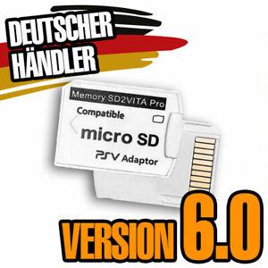 SD2VITA PRO 6.0 Speicherkarte Adapter PS VITA 3.60 + HENKAKU MicroSD Memory Card