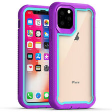 For Apple iPhone 11/Pro/Max Phone Case Cover Heavy Duty Rugged Bumper Clear Back
