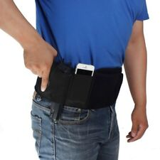 Black Widow  Belly Band Concealed Carry Holster   Black  