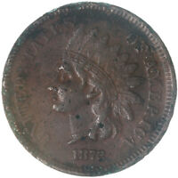 1872 Indian Head Cent Very Fine Penny VF Details Corrosion See Pics F323