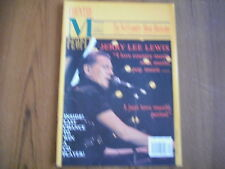 COUNTRY MUSIC PEOPLE - MAGAZINE - DECEMBER 1991 - JERRY LEE LEWIS