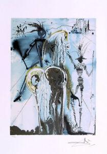 Salvador DALI Don Quixote Horse Signed Lithograph & COA