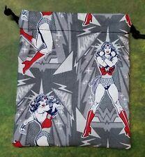 Wonder Woman Poses dice bag, card bag, makeup bag