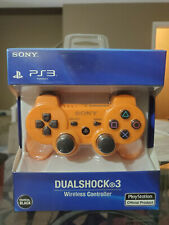 Sony Playstation 3 PS3 Dualshock Controller Awesome Orange