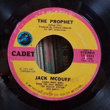 Jack Mcduff | Funk 45 | Ain't No Sunshine / The Prophet | Cadet 5693