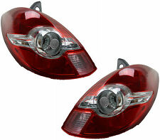 Pair of Tail Lights Nissan Tiida C11 12/09-ON New Hatchback Lamps 10 11 12 13 14