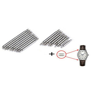 2 x Watch Band Spring Bars Strap Link Pins Watch Repair Tools All Sizes 8-25mm