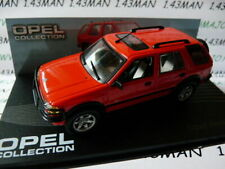 OPE86R voiture 1/43 IXO eagle moss OPEL collection : Frontera rouge