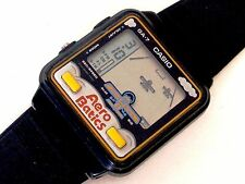 VINTAGE CASIO GAME WATCH AERO BATICS GA-7 PERFECT WORKING VERY RARE CIRCA 1980s