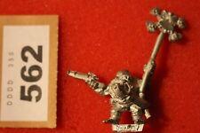 WARHAMMER lunga drong Nano Slayer Pirati Standard Bearer Figura Metallo NANI