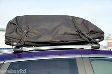 Large fully waterproof foldable car cargo roof bag storage roof box substitute