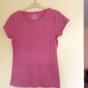 Ladies Tee Shirts Size 14