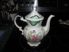 Porcelain Coffee Pot / Tea Pot, Vintage Mitterteich Germany
