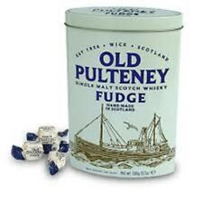 Gardiners Traditional Old Pulteney Single Highland Malt Whisky Fudge Tin - 300g
