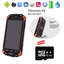 "32GB Unlocked 4.5""Android Smartphone Discovery V9 3G Rugged 4000mAh Orange Phone"