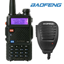 Baofeng UV-5R Two-way Radio VHF UHF Dual-Band FM Ham Walkie Talkie + Speaker Mic