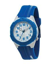 Stainless Steel Case Teen Plastic Band Wristwatches