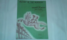 Mutiny in the Nursery from the movie Going Places 1938