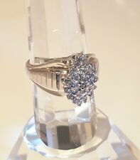"""*NEW! 3/4 cts. Diamonds & White Gold Ladies Dinner/Cocktail Ring  """"BEAUTIFUL"""""""