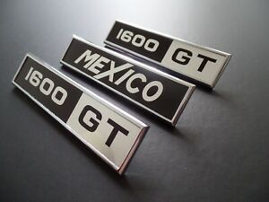 Ford Mk1 Escort MEXICO 1600GT J Fray Badges