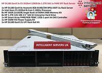HP DL180 Gen9 2x E5-2620v4 128GB 8x 1.2TB SAS 1x P440 SFF Rack Server