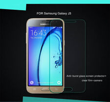 100% Genuine Tempered Glass 9H Screen Protector For Samsung Galaxy J3 (2016)