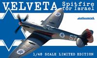 """Eduard 1:48 Spitfire Mk.IXe """"Velveta Spitfire For Israel"""" Aircraft Model Kit"""