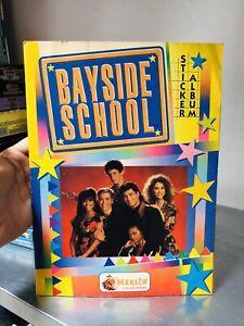 ALBUM FIGURINE MERLIN BAYSIDE SCHOOL  COMPLETO