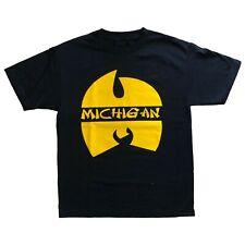 Michigan Wolverines Wu-Tang Shirt Fab Five Jordan Nike