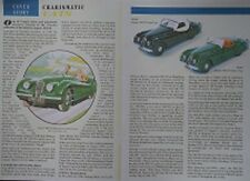 CORGI CLASSIC MODEL CAR MAGAZINE Jan Feb 1992 Jaguar XK120 Norman Dewis Article