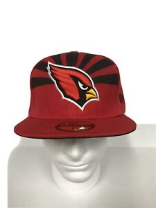 Arizona Cardinals New Era 59Fifty Mens NFL Red Fitted 7 3/8 Hat Cap