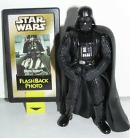 """Star Wars Flashback Darth Vader 1998 Power of the Force 2 POTF2 3-3/4"""" Scale"""