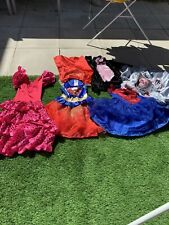 Girls 5-6 Years - Dressing Up Costume Bundle, Supergirl Spidergirl Spanish Dress