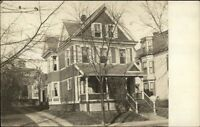 Home - Winter Hill MA Cancel - Somerville Area c1910 Real Photo Postcard