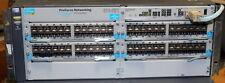 HP ProCurve 5406ZL-96G SFP J8697A 4x J8706A and 1x J8712A   96xSFP 6xAvailable