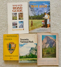 YOSEMITE NATIONAL PARK & ROAD GUIDE AUTO TOUR BOOKS  Lot of 5 VNT National Parks