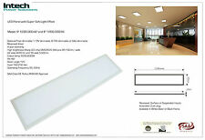 42W LED Panel 1200 x 300 mm 6000k 4200lm with driver + AU Plug for office school