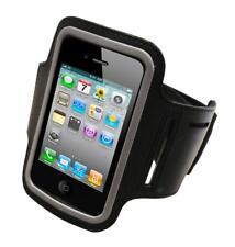 SXP Sport Neopren Armband+Tasche Klettverschluss in Schwarz für Apple iPhone 4