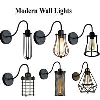 Modern Retro Vintage Industrial Wall Mounted Light Sconce Lamp Fixture